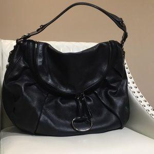 Gucci Leather Icon Bit Handbag